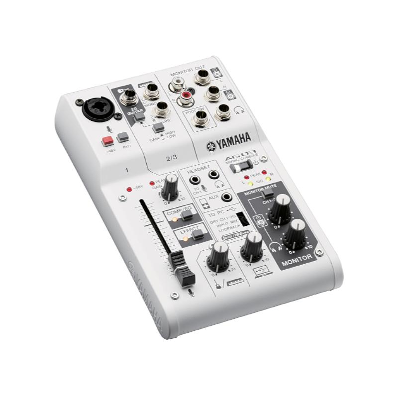 Table de mixage analogique yamaha ag03 a niort - Table de mixage yamaha usb ...