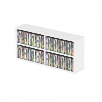 CD BOX 180 WHITE GLORIUS DJ
