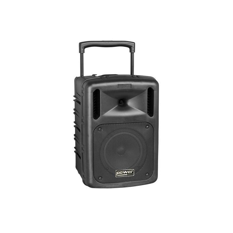 enceinte portable micro hf main power 9208 pt abs avec. Black Bedroom Furniture Sets. Home Design Ideas