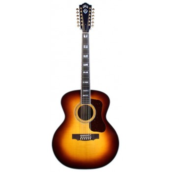 GUILD F-512 Antique Burst...