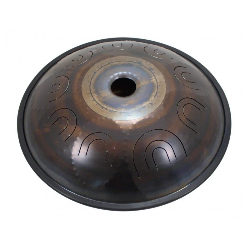 """TONGUE DRUM 18"""" 9 NOTES - E MEDITATION SOUND WATCHING DRUM"""
