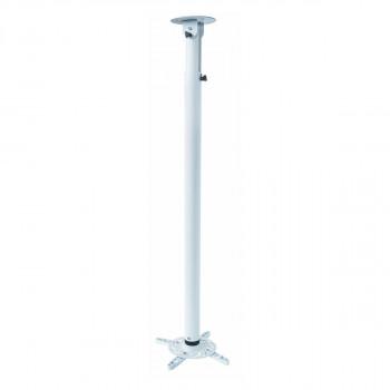 Support plafond vidéoprojecteur Hauteur 110-197cm Blanc
