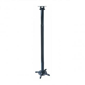 Support plafond vidéoprojecteur Hauteur 110-197cm Noir