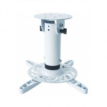 Support plafond vidéoprojecteur Hauteur 20cm Blanc