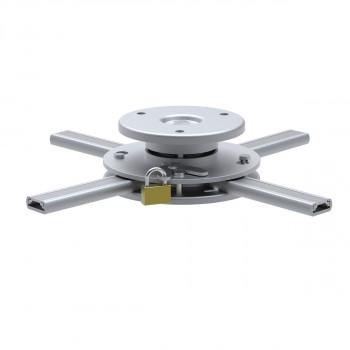 Support plafond vidéoprojecteur Hauteur 6cm Diamètre 16-33cm