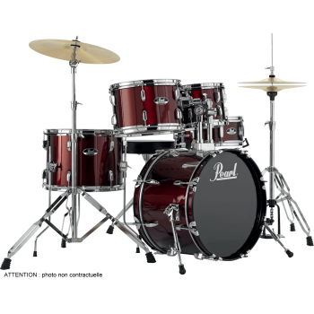 "BATTERIE PEARL ROADSHOW 18"" Red Wine"