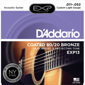 JEU DE CORDES DE GUITARE D'ADDARIO EXP13