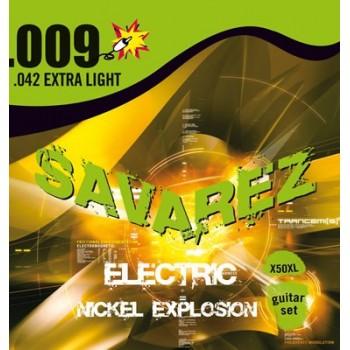 JEU DE CORDES SAVAREZ X50XL Extra Light .009/.042