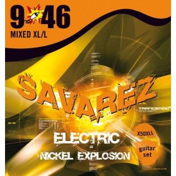 JEU DE CORDES SAVAREZ X50XLL Extra Light-Light .009/.046