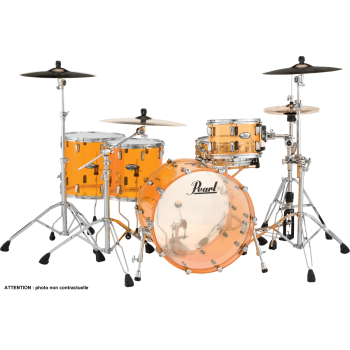 CRYSTAL BEAT ROCK TANGERINE GLASS 2TB PEARL 22''