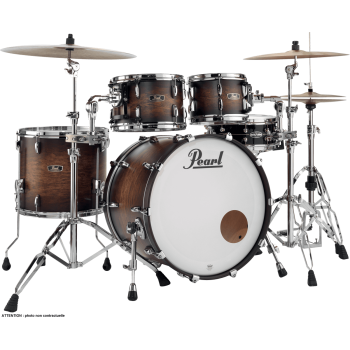 WOOD/FIBERGlASS ROCK SATIN COCOA BURST PEARL 22''