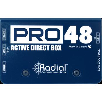 PRO48 DI ACTIVE RADIAL