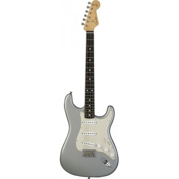 STRATOCASTER MEXICAN ARTIST SIGNATURE ROBERT CRAY INCA SILVER + HOUSSE
