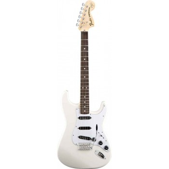 STRATOCASTER MEXICAN ARTIST SIGNATURE RITCHIE BLACKMORE OLYMPIC WHITE + HOUSSE