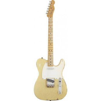 TELECASTER MEXICAN ROAD WORN 50S BLONDE + HOUSSE