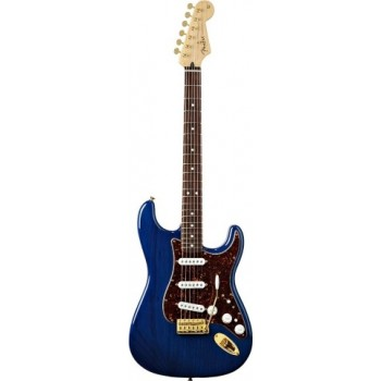 STRATOCASTER MEXICAN DELUXE PLAYERS SAPHIRE BLUE TRANS