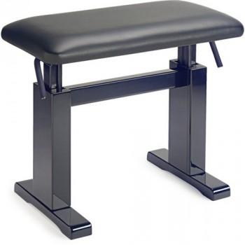 BANQUETTE CLAVIER PIANO STAGG noir brillant