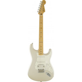 STRATOCASTER MEXICAN DELUXE HSS PLUS TOP IOS MN BLIZZARD PEARL