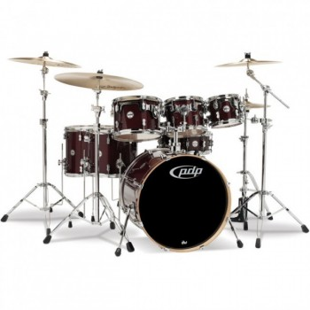CONCEPT MAPLE CM7 STUDIO22 RED TO BLACK SPARKLE FADE PDP