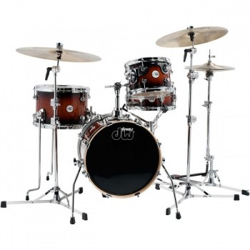 DESIGN MINI PRO BEBOP16 4FUTS BLACK SATIN DW