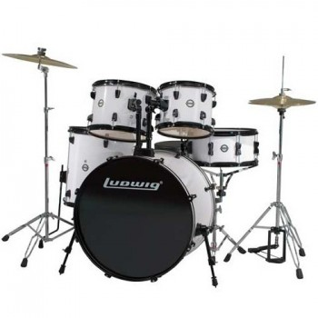 LC175-1 ACCENT STAGE22 5FUTS BLACK LUDWIG