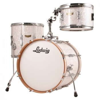 CLUB DATE JAZZ18 3FUTS RED SPARKLE LUDWIG