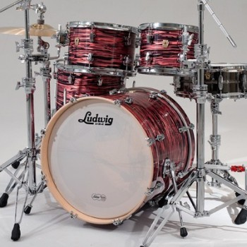 KEYSTONE STAGE22 4FUTS RED OYSTER PEARL LUDWIG