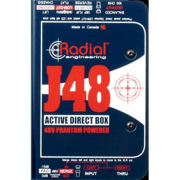 J48 DI ACTIVE RADIAL