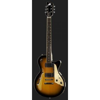 STARPLAYER TV TWO TONE SUNBURST STOPTAIL + ETUI DUESENBERG