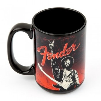 MUG JIMI HENDRIX KISS THE SKY FENDER