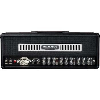 TRIPLE RECTIFIER CHROME PANEL MESA BOOGIE