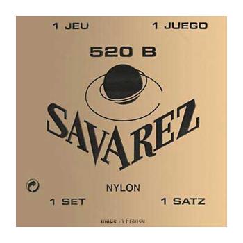 JEU DE CORDES SAVAREZ CARTE ROUGE 520R