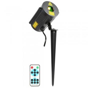 Laser Rouge et Vert IP65 avec télécommande BeamZ