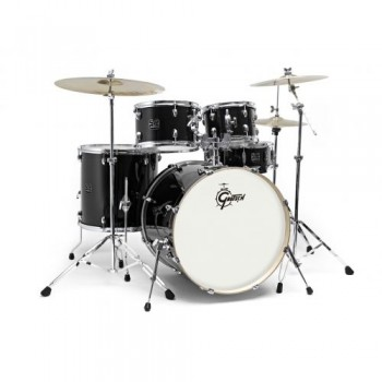 "NEW ENERGY FUSION 20"" BLACK + CYMBALES PAISTE GRETSCH"