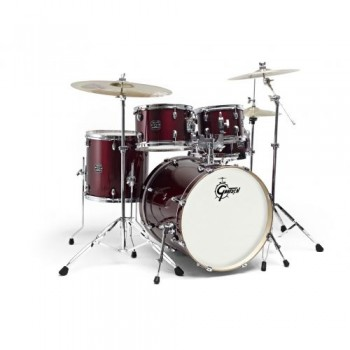 "NEW ENERGY STAGE 22"" BLACK + CYMBALES PAISTE GRETSCH"