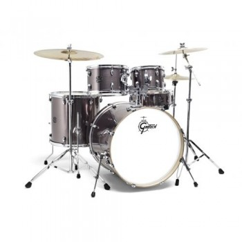"NEW ENERGY STAGE 22"" WINE RED + CYMBALES PAISTE GRETSCH"