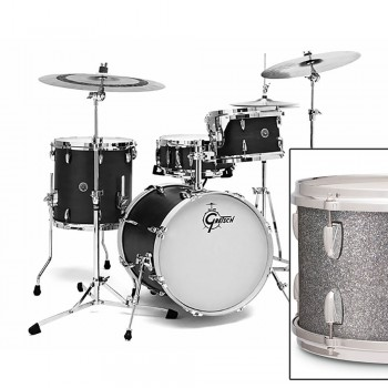 "14"" X 6,5 "" PIANO BLACK GRETSCH"