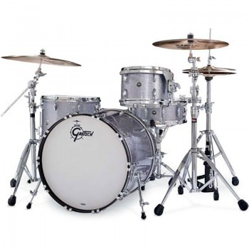 BROOKLYN JAZZ18 3FUTS SATIN ICE BLUE METALLIC GRETSCH