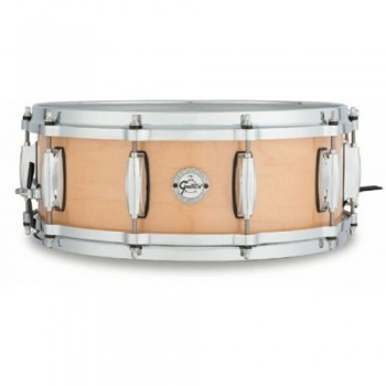 "SILVER SERIES 14"" X 6.5"" WALNUT/MAPLE INLAY GRETSCH"
