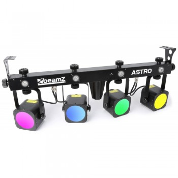 Astro Parbar 4x 20W COB + 4x LEDs 1 W blanc BeamZ Professional