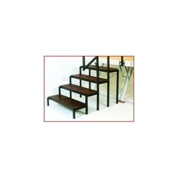 Escalier de Podium pour hauteur de 0,80m SAMIA