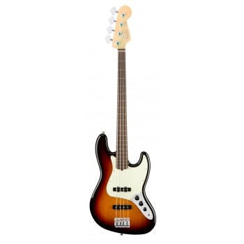 AMERICAN PROFESSIONAL JAZZ BASS FRETLESS RW SUNBURST FENDER