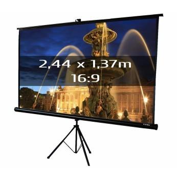 Ecran de projection trépied 1,78 x 1,78m, format 1:1