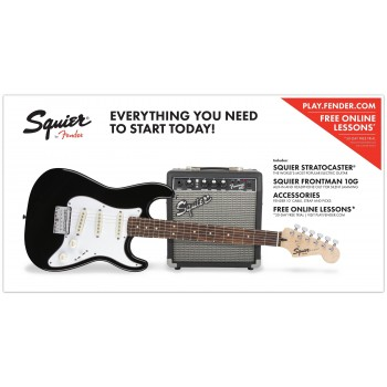 PACK AFFINITY SERIES PRECISION BASS SQUIER
