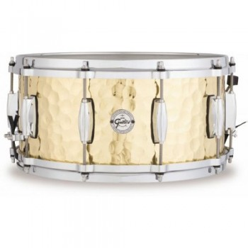 "14"" X 5"" HAMMERED BRASS SILVER SERIES FULL RANGE GRETSCH"