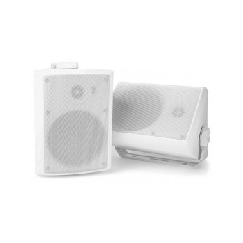 "Power Dynamics	WS40A Set enceintes WiFi 4"" 200 W (blanches)"