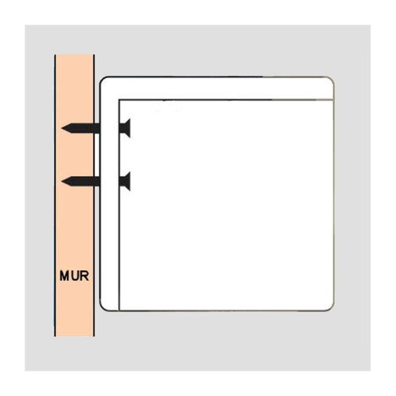 ecran de projection lectrique 1 80 x 1 01m format 16 9. Black Bedroom Furniture Sets. Home Design Ideas