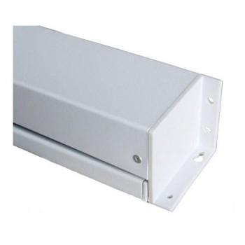 Ecran de projection électrique 2,00 x 2,00m, Multi-format, Toile blanche