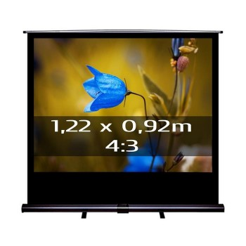 Ecran de projection transportable Pull Up 1,22 x 0,92m, format 4:3
