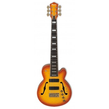SRMS806-BTT 6 CORDES MULTI SCALE BROWN TOPAZ BURST IBANEZ